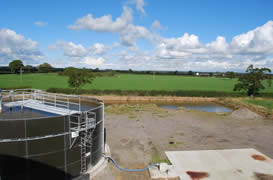 View of Feed tank