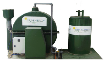 Small scale Anaerobic Digester
